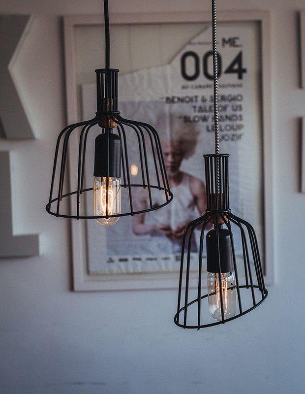 Tente Isso Em Casa: Aprenda a fazer uma luminária descolada com colhedor de frutas