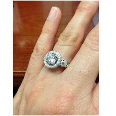 amy krombholz ring gets jewelers cincy at engagement a after redesigned redesign fashion chic rings