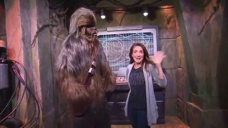 Star Wars Launch Bay Chewbacca Meet and Greet (plus watch a Disneyland mom geek out)!