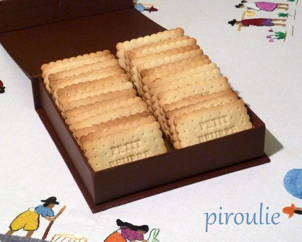 Biscuits Petit beurre maison