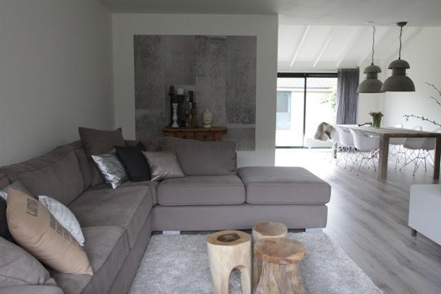 Hoekbank, indeling woonkamer bij weinig ruimte