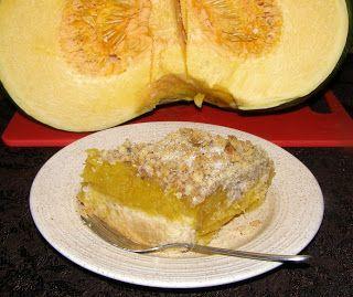 W Mojej Kuchni Lubię.. : kruszonka orzechowa na dyni korzenno-kisielowej na...