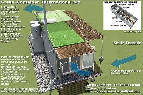 Cargo container house plans shipping containers in haiti storms haiti shipping container - Lot ek container home kit ...