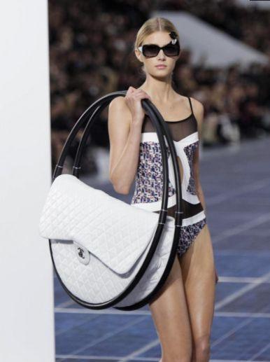 huge Chanel Spring 2013 bag