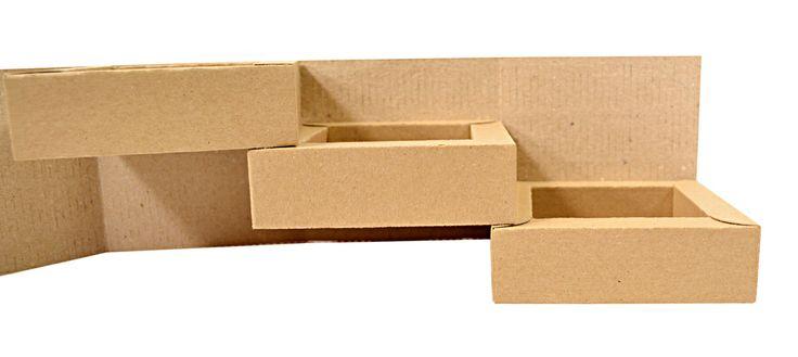 Эксклюзивная коробка-трансформер с тремя ящиками.