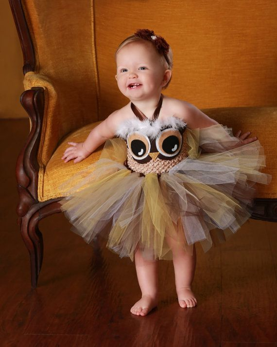 Owl Tutu Dress NB to 3T by TulleBoxTutus on Etsy, $35.00