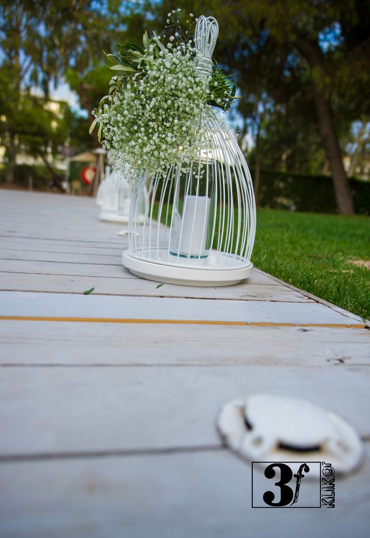 summer in Greece - wedding decoration @ Glyfada