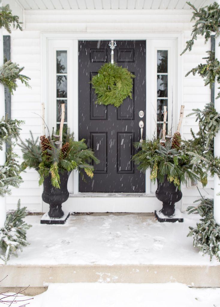 best 25 winter porch ideas on pinterest winter porch. Black Bedroom Furniture Sets. Home Design Ideas