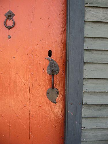 door: The Doors, Doors Handles, Color Combos, Burnt Orange, Orange Doors, Fall Doors, Doors 3, Front Doors, Coral Doors
