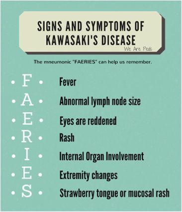 We Are Peds   Kawasaki Disease   Peds Nursing Blog