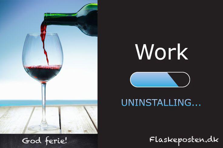 Vacation, wine
