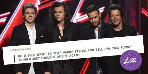 QUIZ: Which One Direction tumblr text post accurately sums up your life?