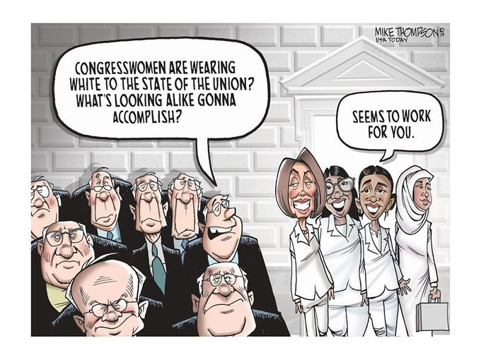 2019 Political Cartoons From The Usa Today Network Funny
