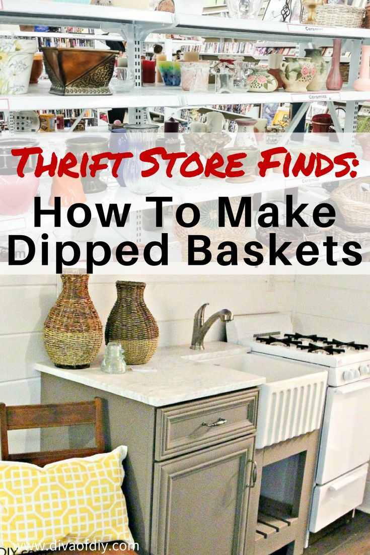 Thrift Store Finds How To Make Gold Dipped