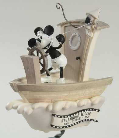 Hallmark Mickey & Co BOXED STEAMBOAT WILLIE ORNAMENT at Replacements, Ltd