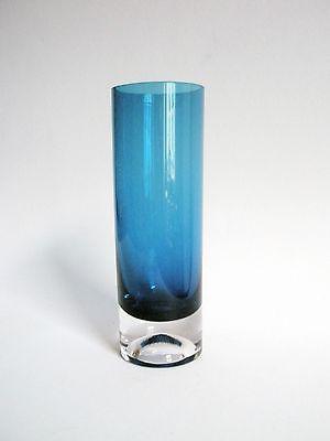 Gral Glas Vase Bechervase Säulenvase Zylindervase Entw. Emil Funke 0,8 kg 60er