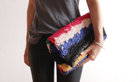 Marant Knitted Clutch by StyleReload on Etsy