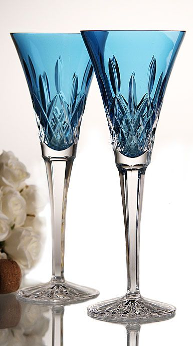 44 best colored glassware images on pinterest glass art colored glass and crystal glassware - Waterford colored wine glasses ...