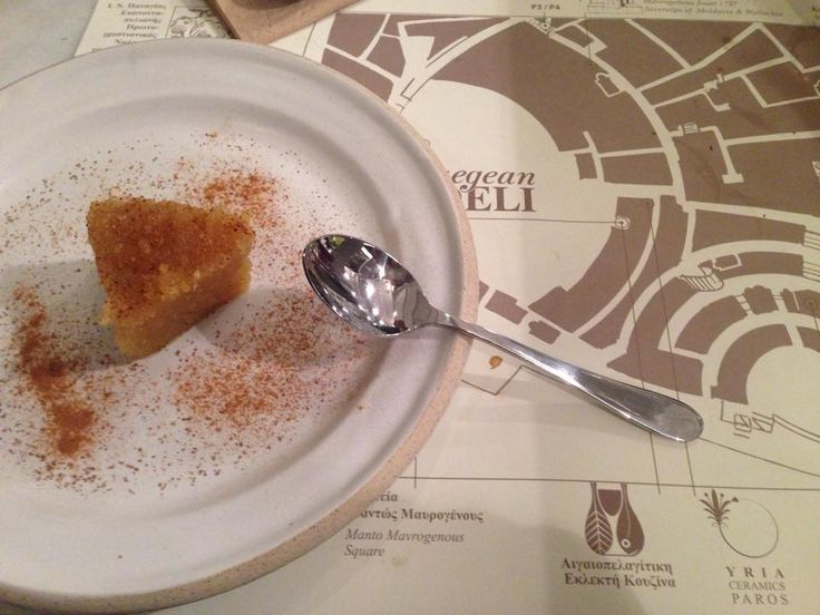 Desert with Semolina created by Aegean Deli