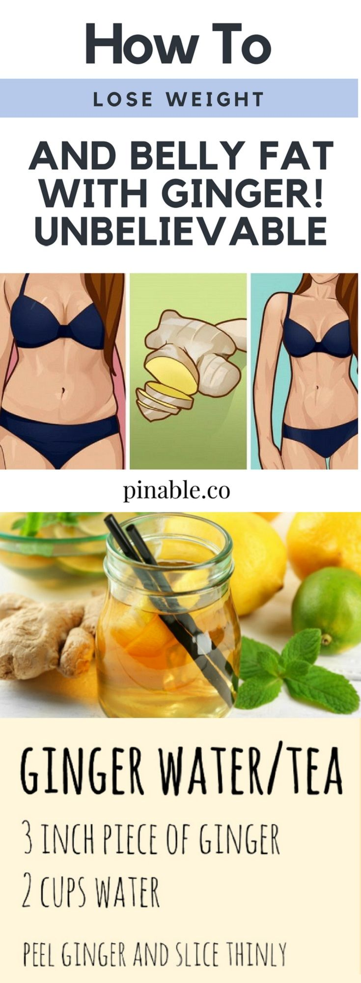 eating ginger and weight loss