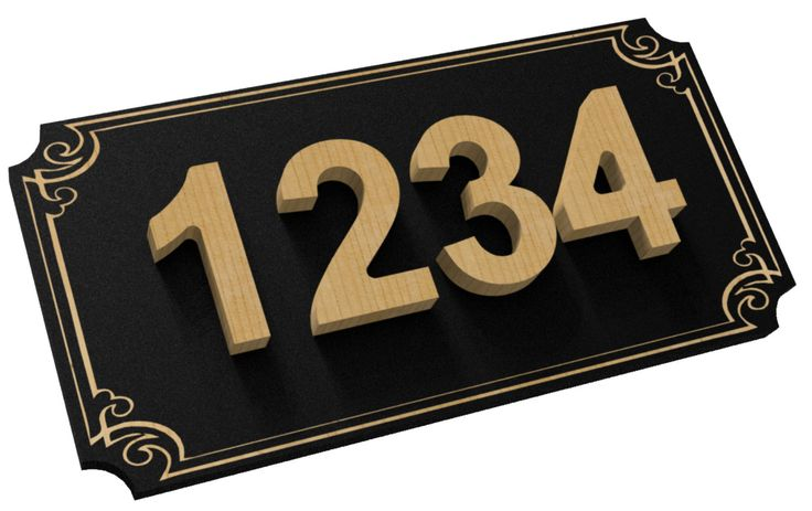 $35 CAD - Hand Made Personalized House Numbers, House Address Sign, Wood, Wall Hanging, Address Numbers by TheWoodpeckersCanada on Etsy