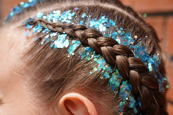 Boxer Braids tutorial with glittering happy ending, #Boxer #Braids #glittering #happy #Tutori…