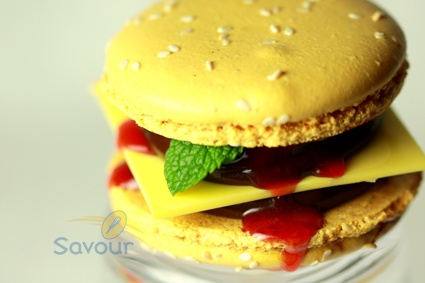 Savour Chocolate & Patisserie Cooking School Savoury Macaron?
