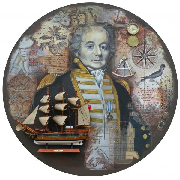 William Bligh Painting - William Bligh Fine Art Print - Leigh Banks