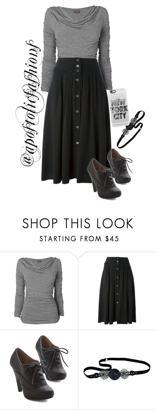 """Apostolic Fashions #1409"" by apostolicfashions ❤ liked on Polyvore featuring Phase Eight, Paul & Joe, Jane Tran, Casetify, modestlykay and modestlywhit"