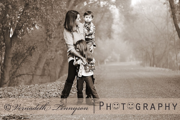 Family portrait...   CAPTURED MEMORIES: Tish Gabri and The Kids