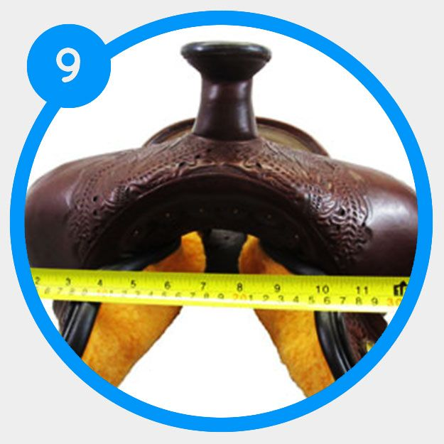 How To Determine The Swell Width Of Your Saddle Saddle Fitting