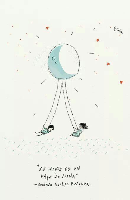 El amor es un rayo de luna