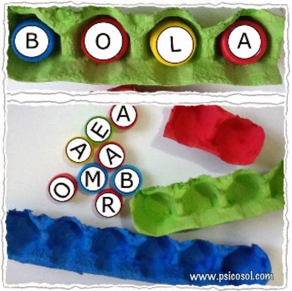 Poderá ser para formar frases para os já alfabetizados usando uma cor para cada palavra.