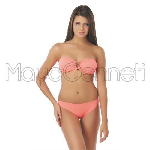 Sunset straplez bikini