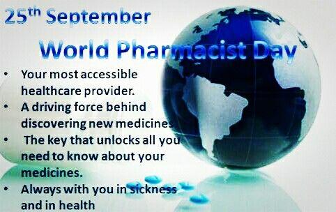 Happy World's Pharmacist's Day!
