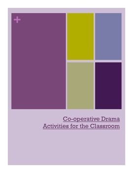 Fun, engaging activities to incorporate dramatic elements into your class.  This booklet includes 15 different tried, tested and true activities that will bring your class together and much fun to be had!