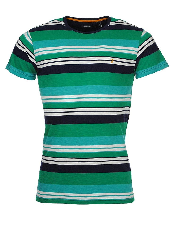 Farah The Brook T-Shirt, Bottle Green | McElhinneys Online Department Store