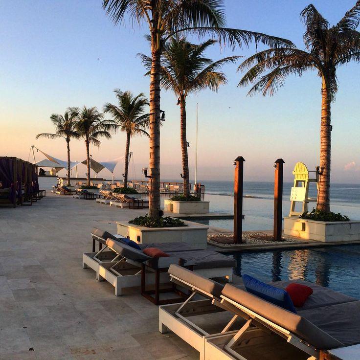 Sunrise at Canggu!! We took a wander one morning through the beach club at lvl8. It was of course deserted at that time in the morning! Looked like a fun spot to watch the sunset! #canggu #lvl8 #vuebeachclub #possespringbreak #balibeach #balisunset #seminyak #travelbali #travelblog #baliphotographer #instagood #welltravelled #letsgosomewhere #balilovers #explorebali #balinow #bali #balifix #balifixblog