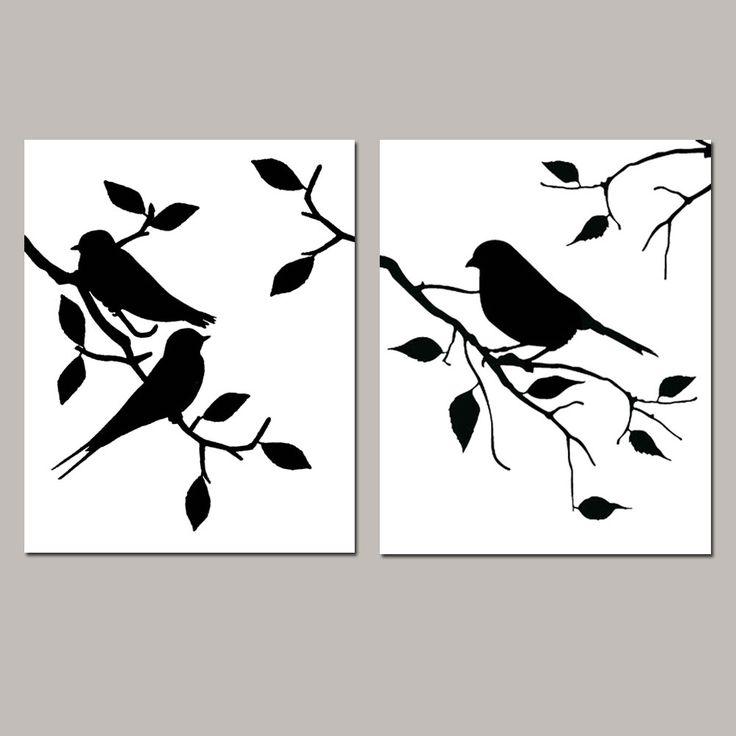 Pájaros en rama                                                                                                                                                     Más