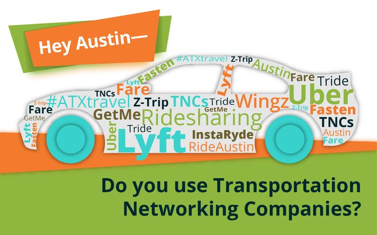 Austin Region Transportation Network Company Survey Now Open
