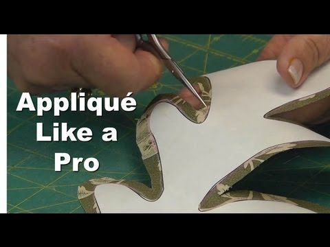 Jan Patek is the Queen of applique! Appliqué Like a Pro! Part 4/4 - Inner & Outer Curves.