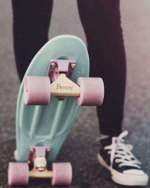 Tiffany blue penny board