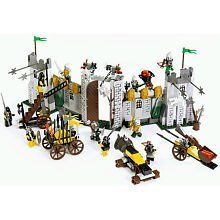 LEGO Knights Kingdom Set #8813 Battle At The Pass by LEGO. $164.90. Includes 11 minifigures: skeleton, 5 Knights of Morcia and 5 Rogue Knights!. ?Also includes 4 battle vehicles and a whole arsenal of knightly weapons!. The invasion is on! Rogue Knights have laid siege to the guarded pass, and it's up to a brave legion of knights to stop them in this ultimate battle set! Defend the gates from the villains' mighty battle machines with all the traps, catapults and weapons your fo...