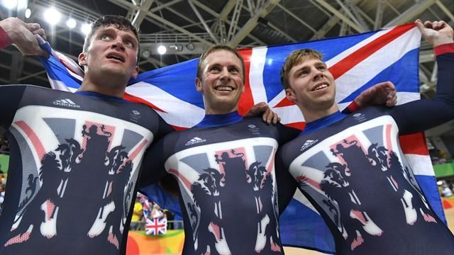 Olympics Rio 2016: GB win first gold in the velodrome for men's team sprint - Rio 2016 - Cycling - Track - Eurosport