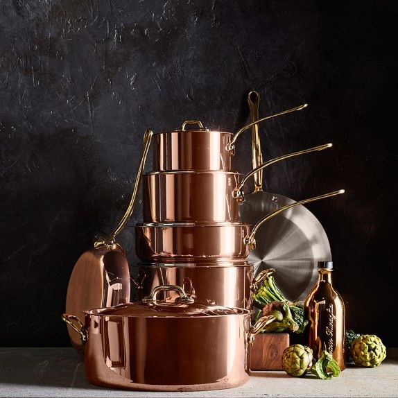 Mauviel Copper Saucepan | Williams-Sonoma