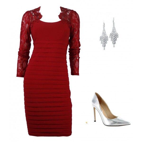 Sharmaine Lace Contour Dress