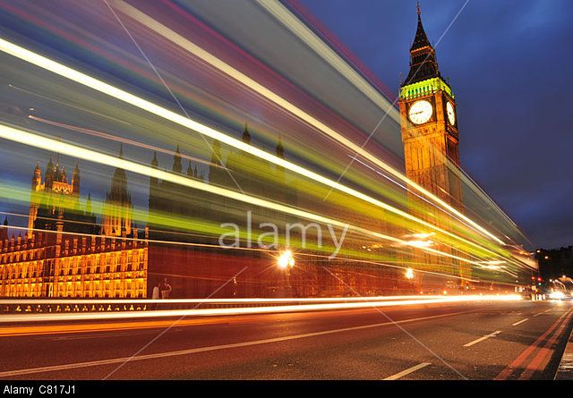 London by night. © Lucian Milasan / Alamy