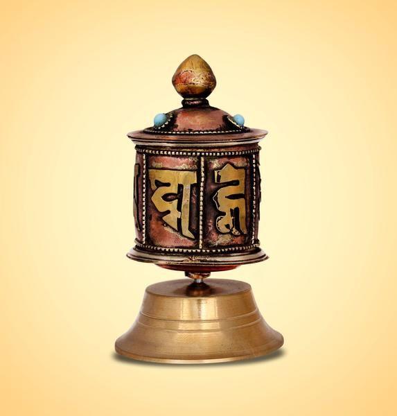 Tibetan Buddhist Prayer Wheel  @devotionalstore