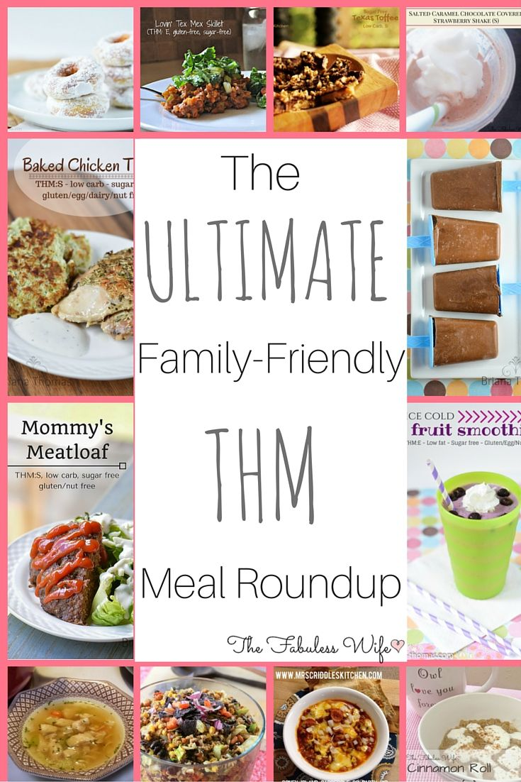 Get the whole family on board with family-friendly THM recipes! You'll love these family-friendly options from the best bloggers!