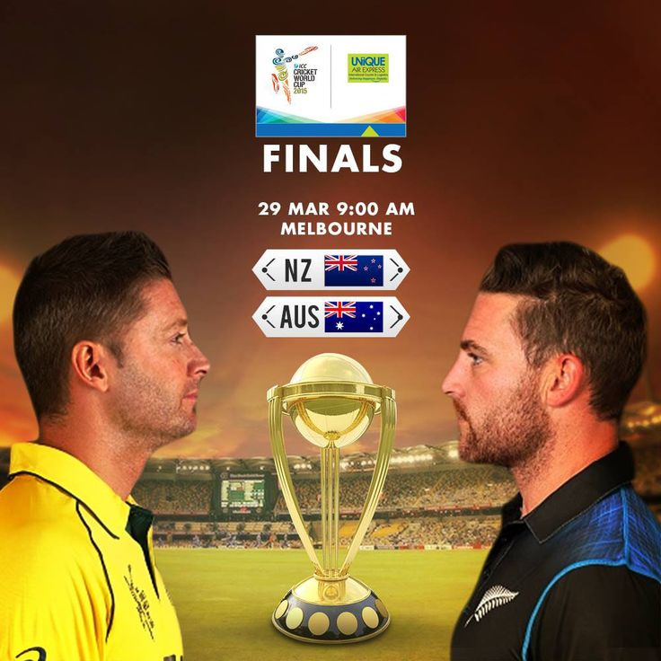 ICC Cricket World Cup 2015 Final Tomorrow. Can You predict the Winner..?